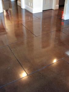 O Polished Concrete